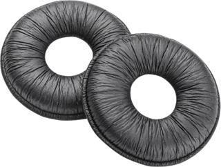 Plantronics 67712-01 headphone pillow Black Leatherette 2 pc(s)