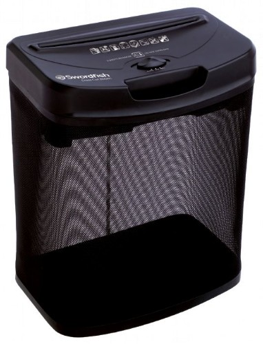 Swordfish 800XC paper shredder Cross shredding 22.5 cm 72 dB Black
