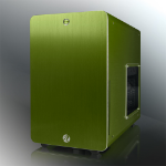 RAIJINTEK Styx Micro-Tower Green computer case