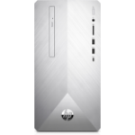 HP Pavilion 590-p0069na 9th gen Intel® Core™ i3 i3-9100 8 GB DDR4-SDRAM 1000 GB HDD Silver Mini Tower PC