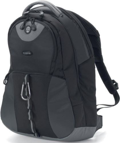 Dicota BacPac Mission XL: Trendy Notebook backpack for Notebooks up to 17
