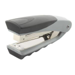 Rexel Centor Half Strip Stapler Silver/Black stapler