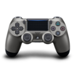 Sony DualShock 4 v2 Gamepad PlayStation 4 Analogue / Digital Bluetooth/USB Black, Stainless steel