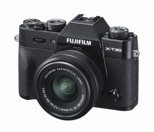 Fujifilm X -T30 + XC 15-45mm MILC Body 26.1 MP CMOS 6240 x 4160 pixels Black