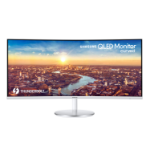 "Samsung C34J791WTU LED display 86.4 cm (34"") 3440 x 1440 pixels WQHD Curved Matt Grey"