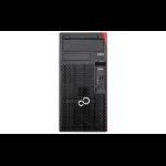 Fujitsu ESPRIMO P557 3.5GHz G4560 Desktop Black, Red PC