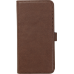 eSTUFF Iphone X Leather wallet mobile phone case Wallet case Brown