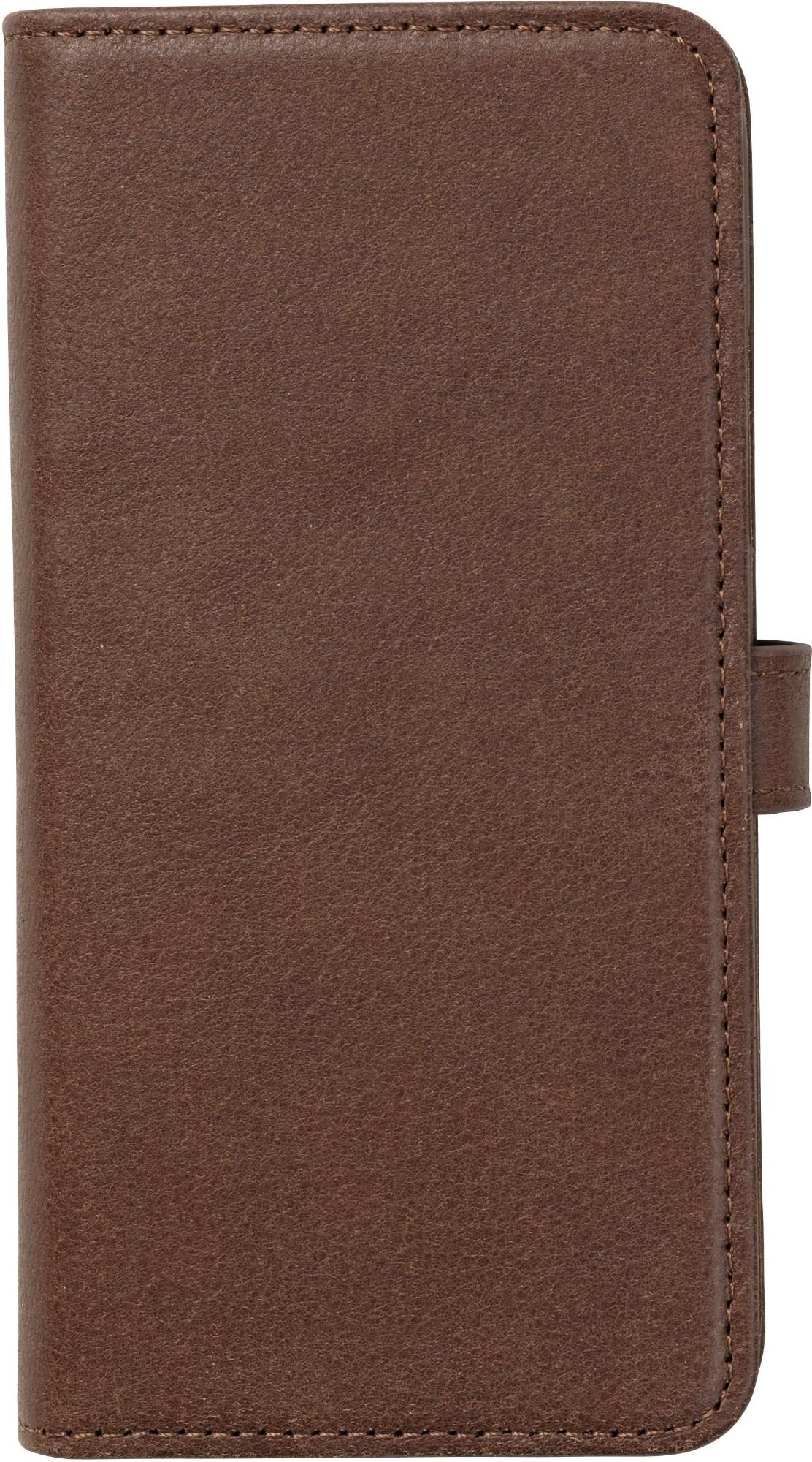 eSTUFF Iphone X Leather wallet mobile phone case Wallet case Brown
