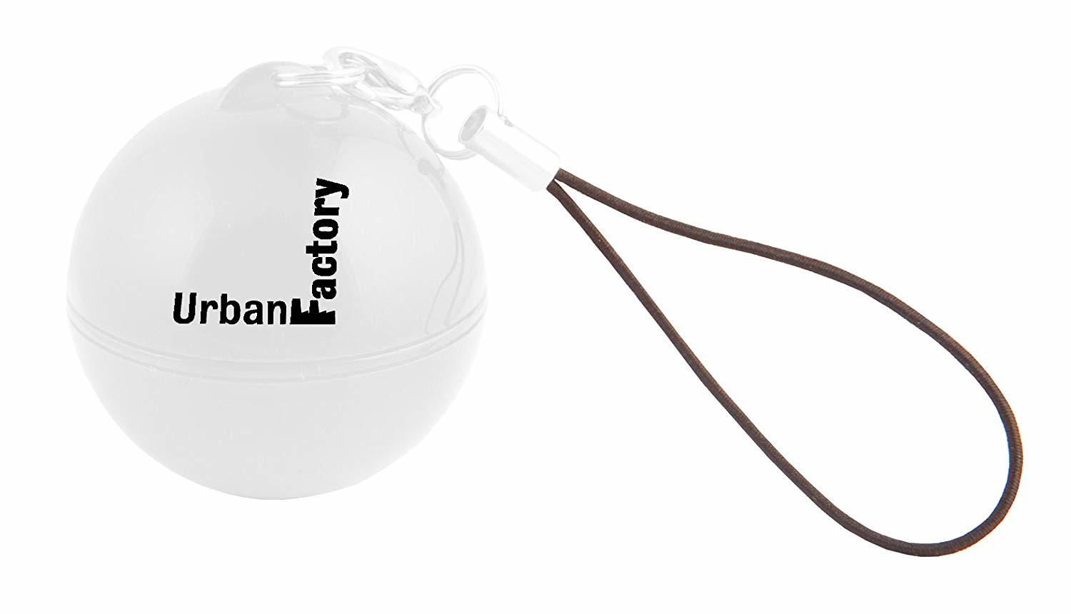 Urban Factory Music Ball White - transforms any container to a speaker using vibrations