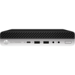 HP 800 EliteDesk G5 DM, i5-9500T, 8GB, 256GB SSD, WLAN, W10P64, 3-3-3, USB-C 100w PD support for MIO 24