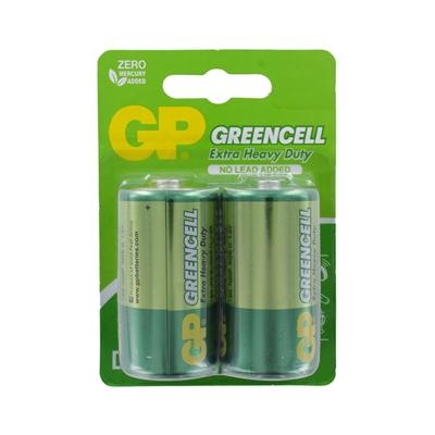 GP Batteries GP Greencell Zinc Pack of 2 D Batteries