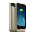 """Mophie Juice Pack Air 4"""" Cover Gold"""