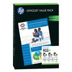HP CR711AE (933XL) Ink cartridge multi pack, 3x825 pg, Pack qty 3