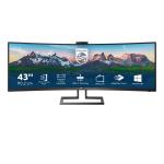 "Philips P Line 439P9H/00 computer monitor 110.2 cm (43.4"") 3840 x 1200 pixels LCD Black"