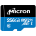 Micron Industrial memoria flash 256 GB MicroSDXC Clase 10 UHS-I