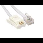 Cables Direct BT - RJ11 10m White