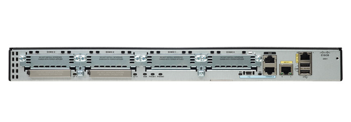 Cisco 2901 Ethernet LAN Black,Silver wired router