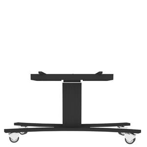 CONEN Mobile trolley LOW with electric height & TILT adj. for 55-56 displays, C-base, all black