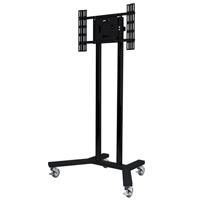 "B-Tech BT8504 65"" Portable flat panel floor stand Black"
