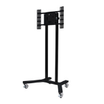 "B-Tech BT8504 65"" Portable flat panel floor stand Black"