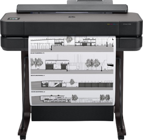 HP Designjet T650 24-in large format printer Wi-Fi Thermal inkjet Colour 2400 x 1200 DPI Ethernet LAN