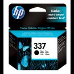 HP 337 Origineel Zwart 1 stuk(s)