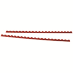 GBC CombBind Binding Combs 8mm Red (100)