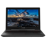 "ASUS FX503VM-EN184T Black Notebook 39.6 cm (15.6"") 1920 x 1080 pixels 2.5 GHz 7th gen Intel® Core™ i5 i5-7300HQ"