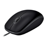 Logitech B110 mice USB Optical 1000 DPI Ambidextrous Black