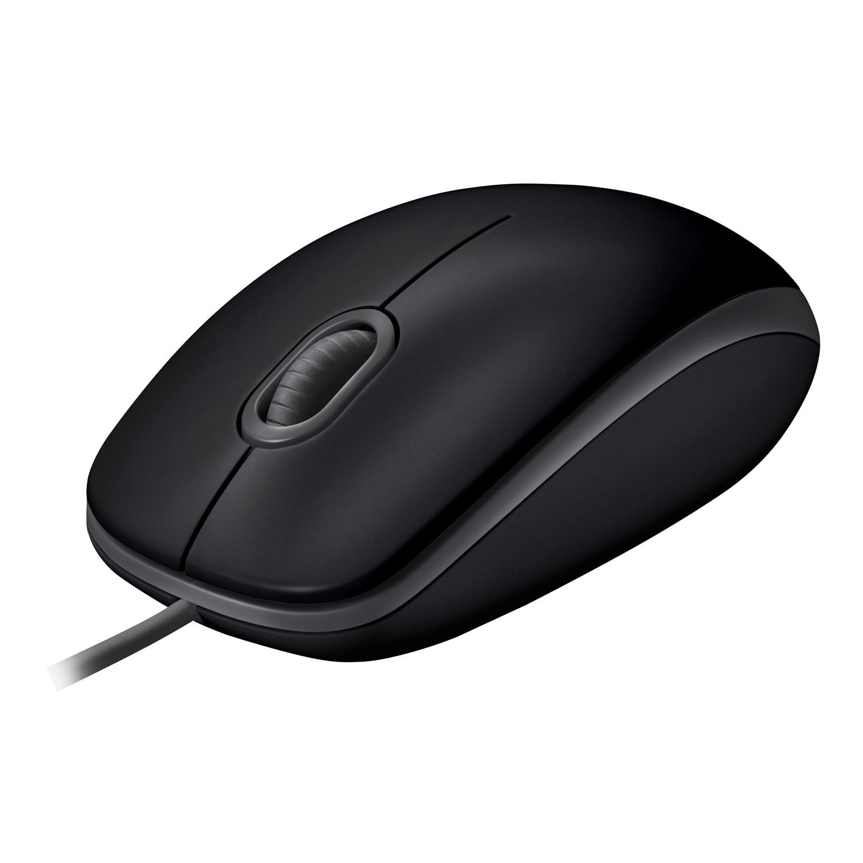 Logitech B110 ratón USB tipo A Óptico 1000 DPI Ambidextro