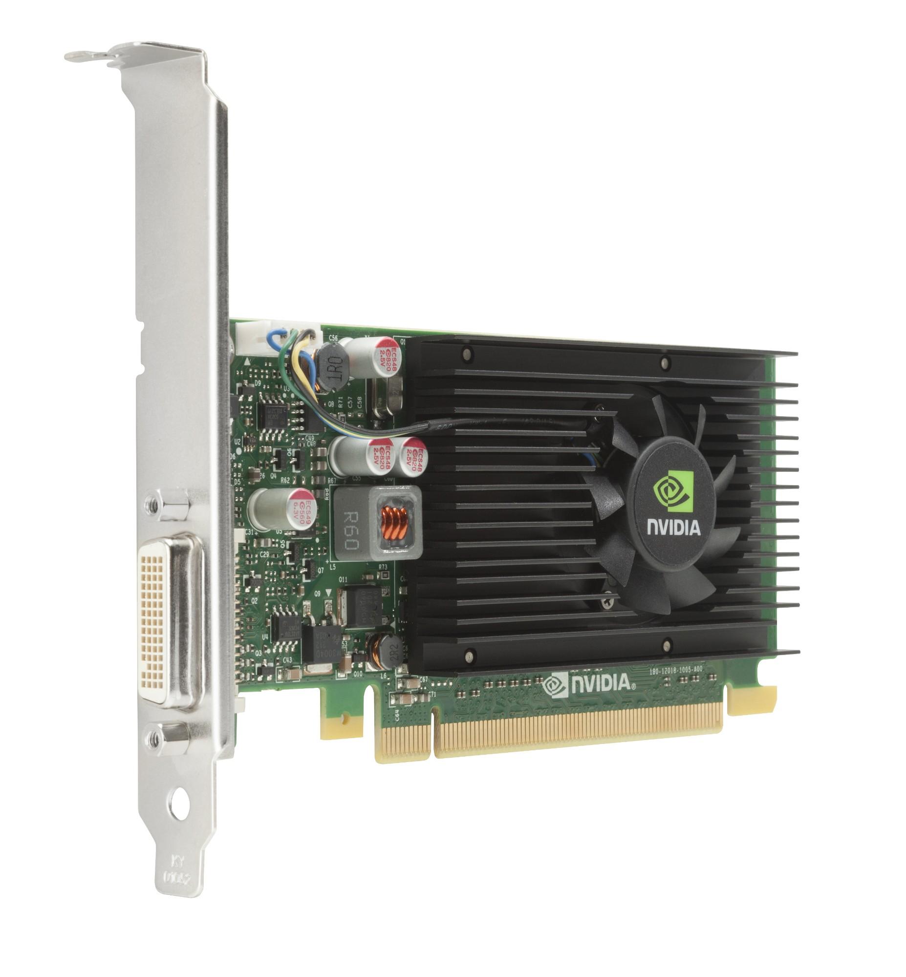 HP NVIDIA NVS 315 1GB Graphics Card