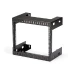 StarTech.com RK812WALLO rack cabinet 8U Wall mounted rack Black
