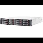 Hewlett Packard Enterprise MSA 2040 disk array Black,Stainless steel