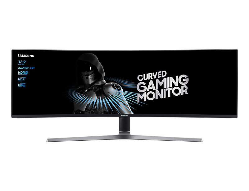 Samsung LC49HG90DMU 49 Inch Curved 4K Ultra HD VA Monitor Black Coal