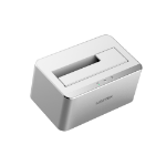 UNITEK Y-1091 storage drive docking station USB 3.2 Gen 1 (3.1 Gen 1) Type-B Silver