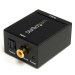 StarTech.com Adaptador Conversor de Audio Digital Coaxial SPDIF o Toslink Óptico a RCA Estéreo Analógico
