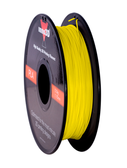 Abs Filament 1.75mm 200mm spool Yellow