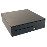 APG Cash Drawer T520-BL1616-M5 Steel Black cash box tray