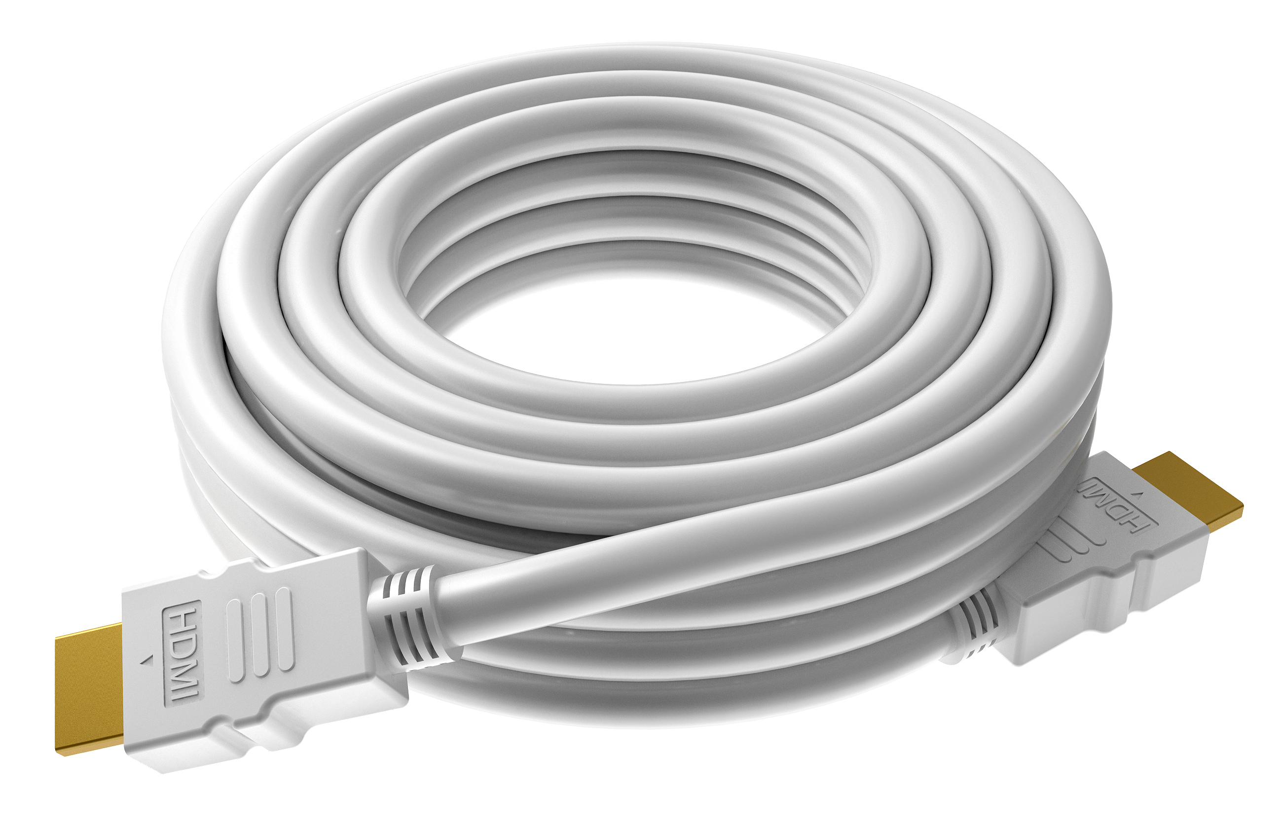 Vision TECHCONNECT SPARE 15M HDMI CABLE Engineered connectivity solution, White, 4K compliant, High-Speed (