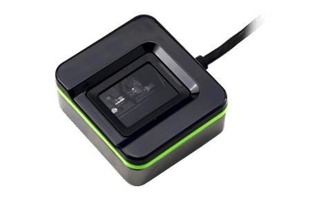 2N Telecommunications 9137423E fingerprint reader USB 2.0 Black,Green