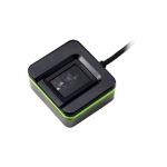2N Telecommunications 9137423E fingerprint reader USB 2.0 Black, Green