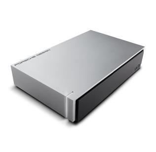 LaCie Porsche Design 3000GB Silver external hard drive