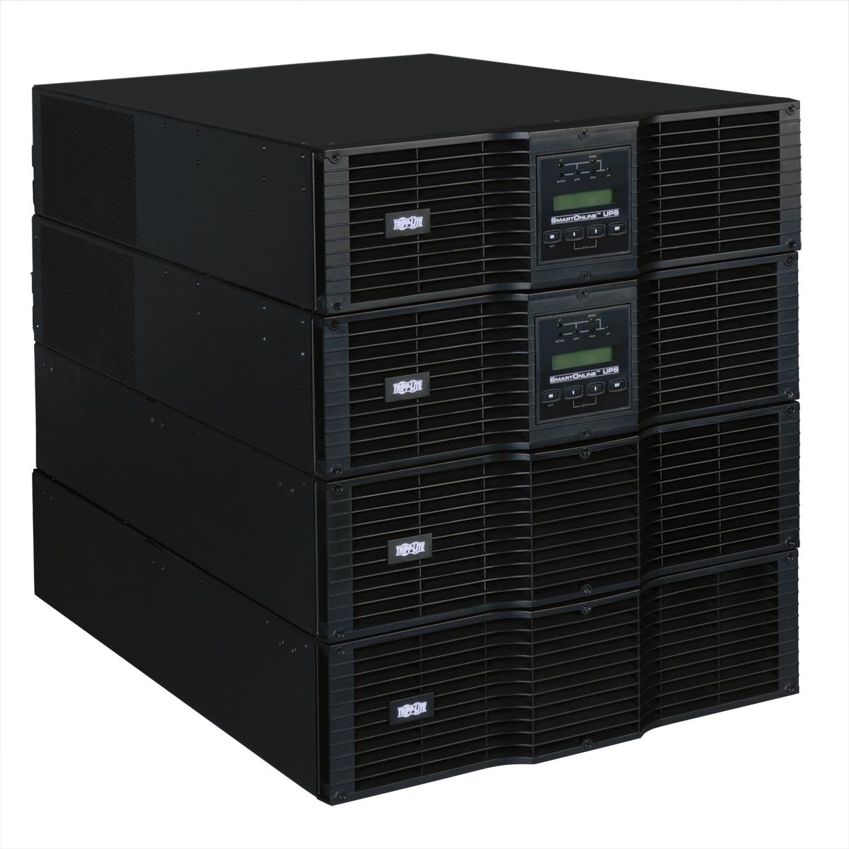 Tripp Lite SmartOnline 200-240V 16kVA 14.4kW Double-Conversion UPS, N+1, 12U, Network Card Slot, USB, DB9, Bypass Switch, C19