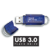 Integral INFD8GCOU3.0-197 USB flash drive 8 GB USB Type-A 3.2 Gen 1 (3.1 Gen 1) Blue,Silver