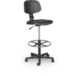 MooreCo Trax Task Stool office/computer chair Mesh seat Mesh backrest