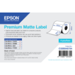 Epson Premium Matte Label - Die-cut Roll: 102mm x 152mm, 800 labels C33S045724