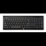 HP K2500 keyboard RF Wireless Black