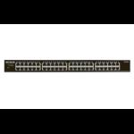 Netgear GS348 Unmanaged Gigabit Ethernet (10/100/1000) Zwart 1U
