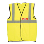 FSMISC FIRE WARDEN VEST HIGH RES XL YELLOW