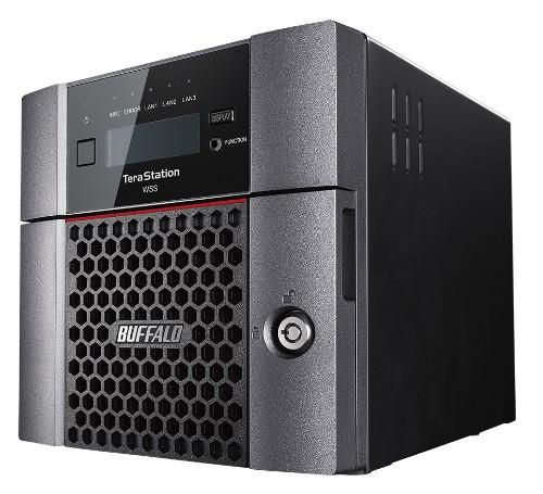 Buffalo TeraStation WS5220DN Ethernet LAN Desktop Black SAN